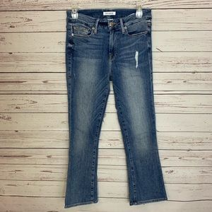 Good American Good Cuts Straight Leg Jeans Size 4